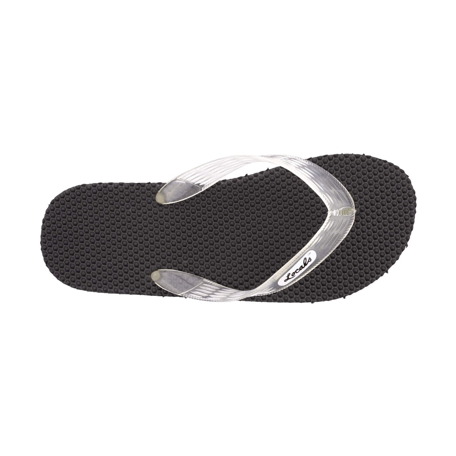 Massage Women's Clear Strap Slippa
