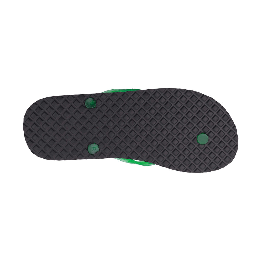 NEW! Massage Women's Translucent Green Strap Slippa
