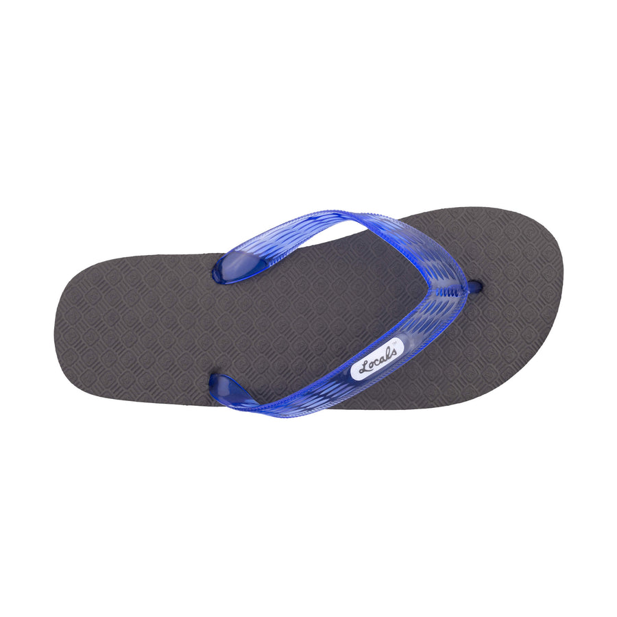 Original Women's Translucent Blue Strap Slippa