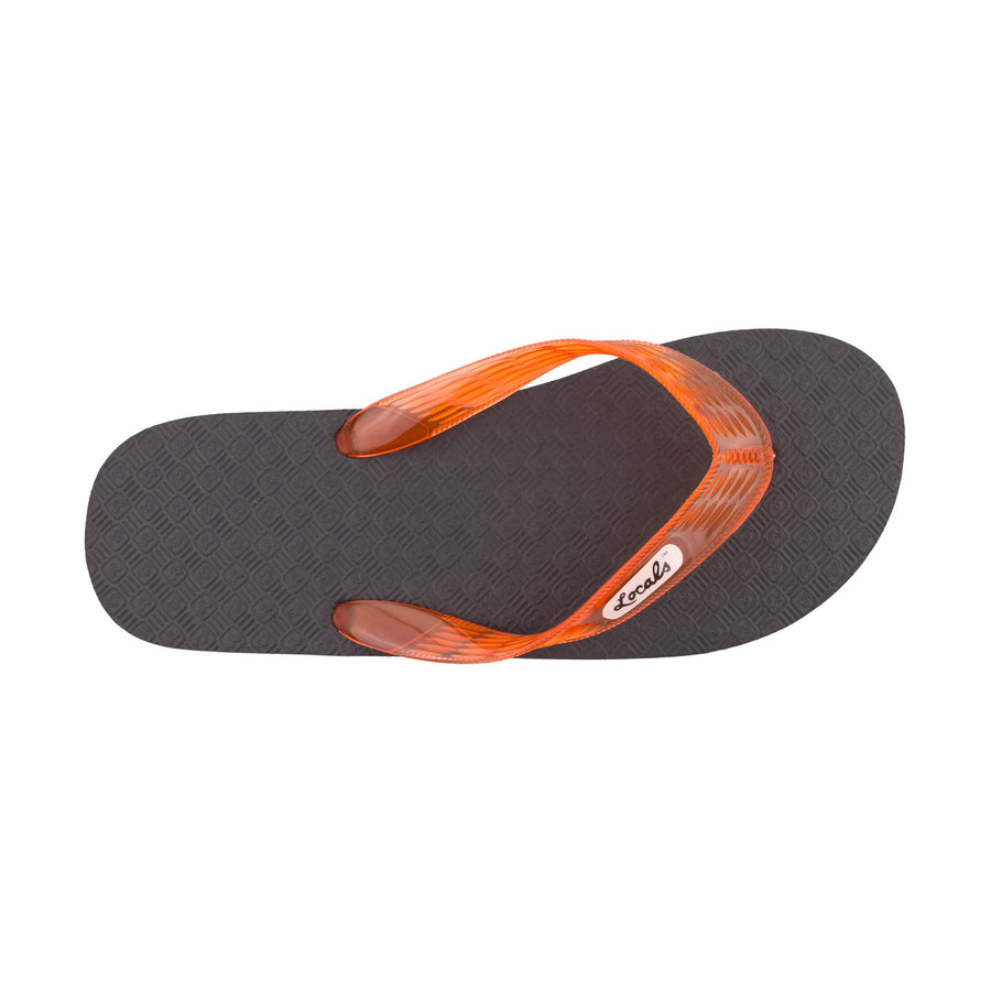 Original Men's Translucent Orange Strap Slippa