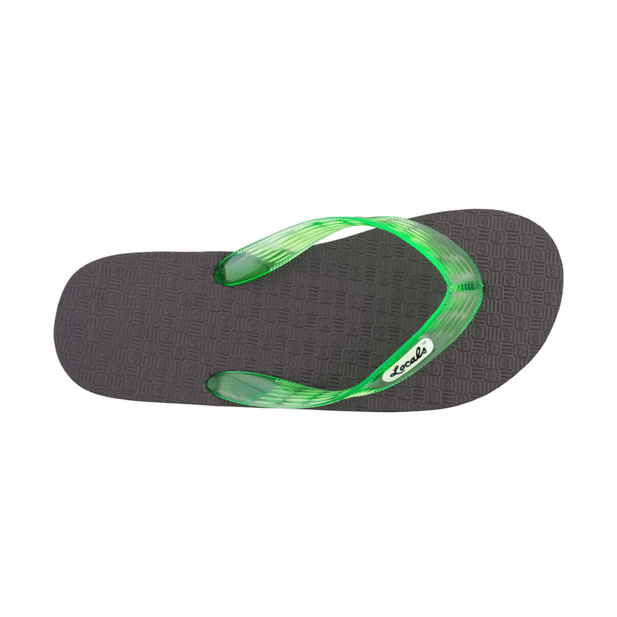 Original Women's  Translucent Green Strap Slippa