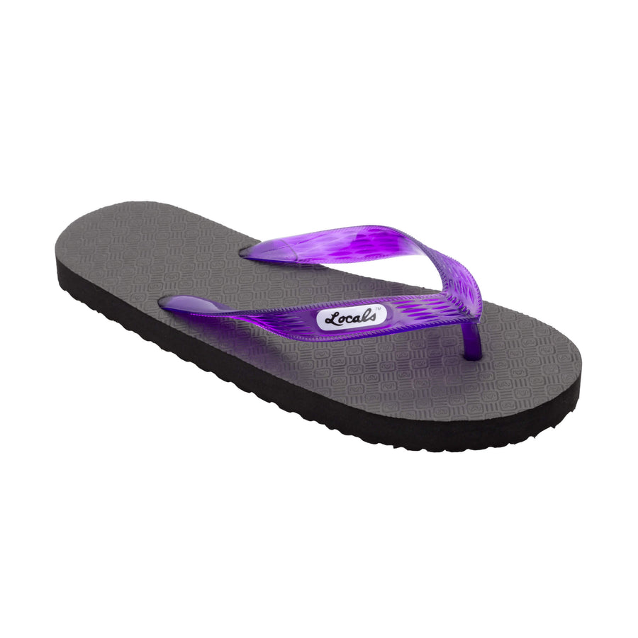 Original Men's Translucent Purple Strap Slippa