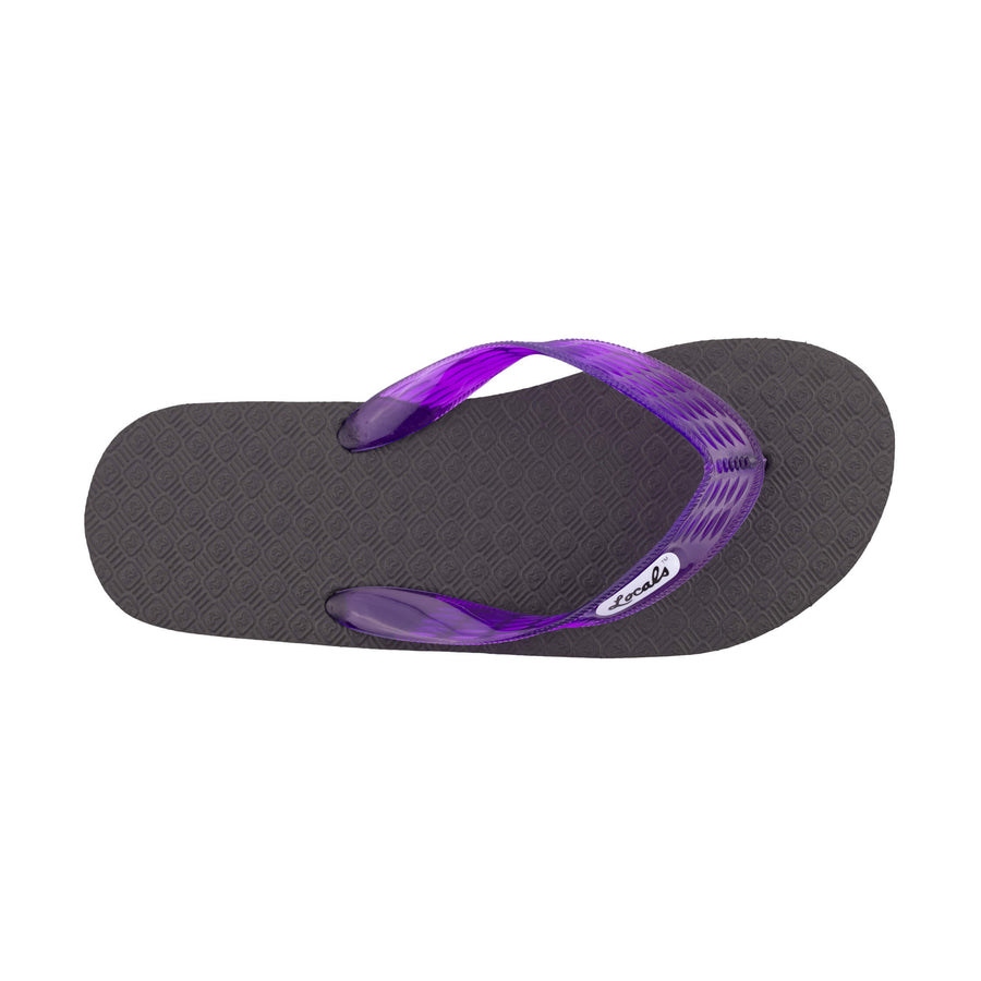 Original Women's Translucent Purple Strap Slippa