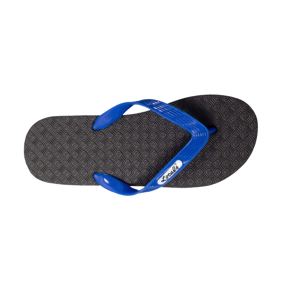 NEW! Men's Solid Blue Strap Slippa