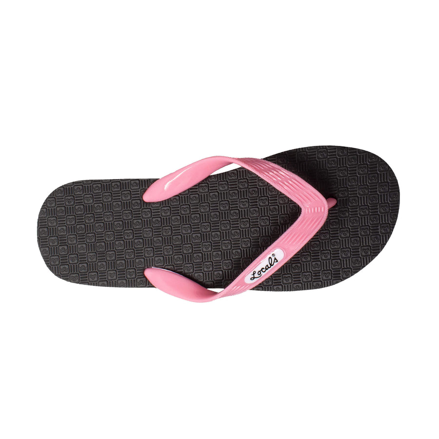 NEW! Women's Solid Pink Strap Slippa