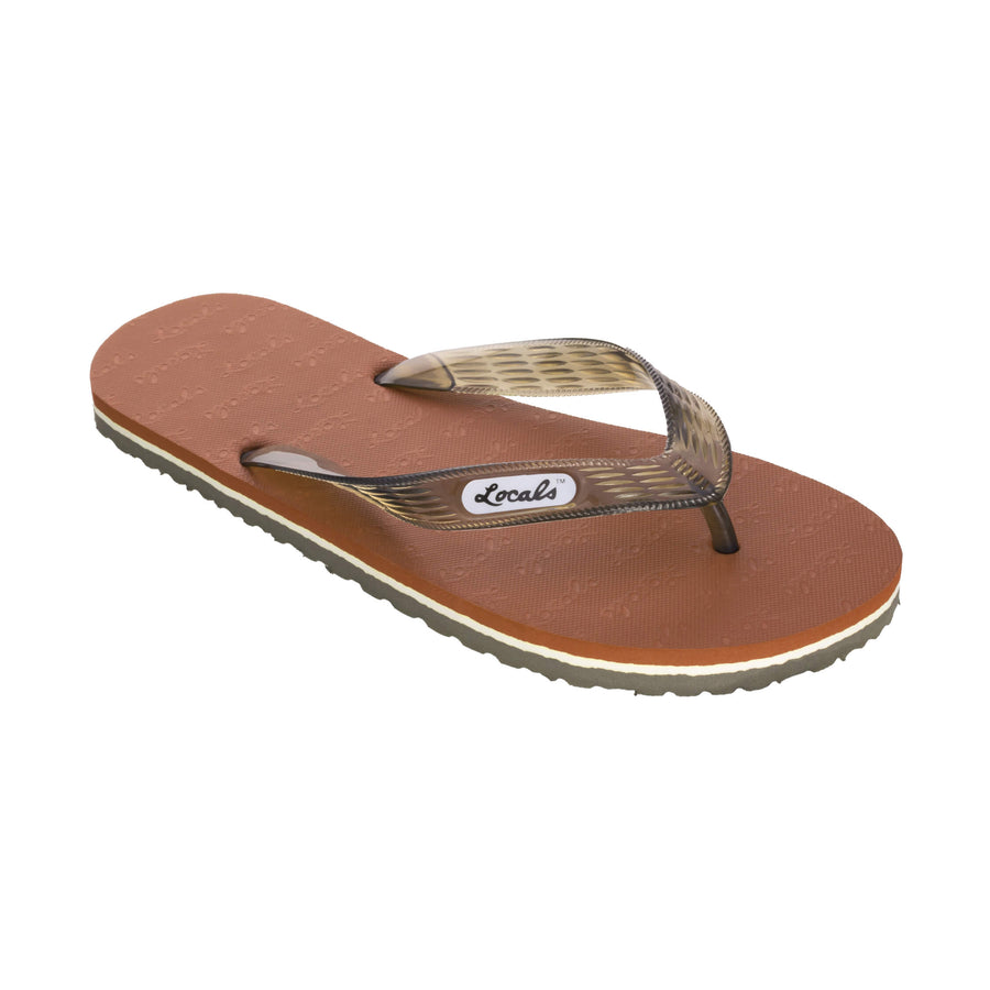 Women's Brown Slippa