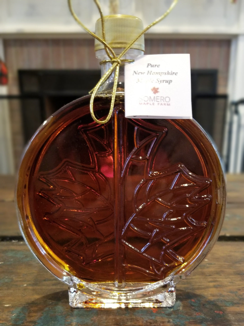 Maple Syrup, Round Glass (8.45 oz)