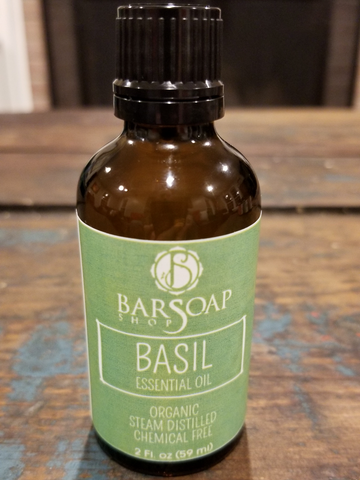 Basil Essential Oil, Organic
