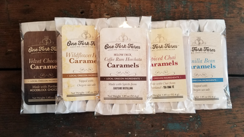 Caramels, 5 pack, Assorted