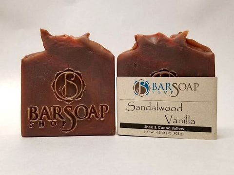 Sandalwood Vanilla, Bar Soap