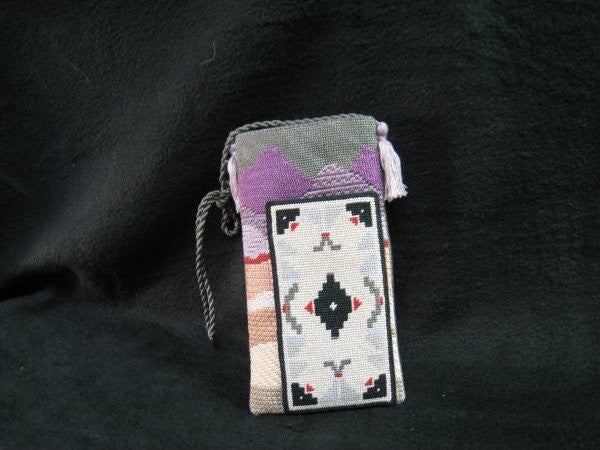 Southwest glass/ipod case or scissor case A50I