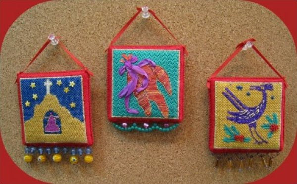 Three southwest ornaments-QRS 12,13,14