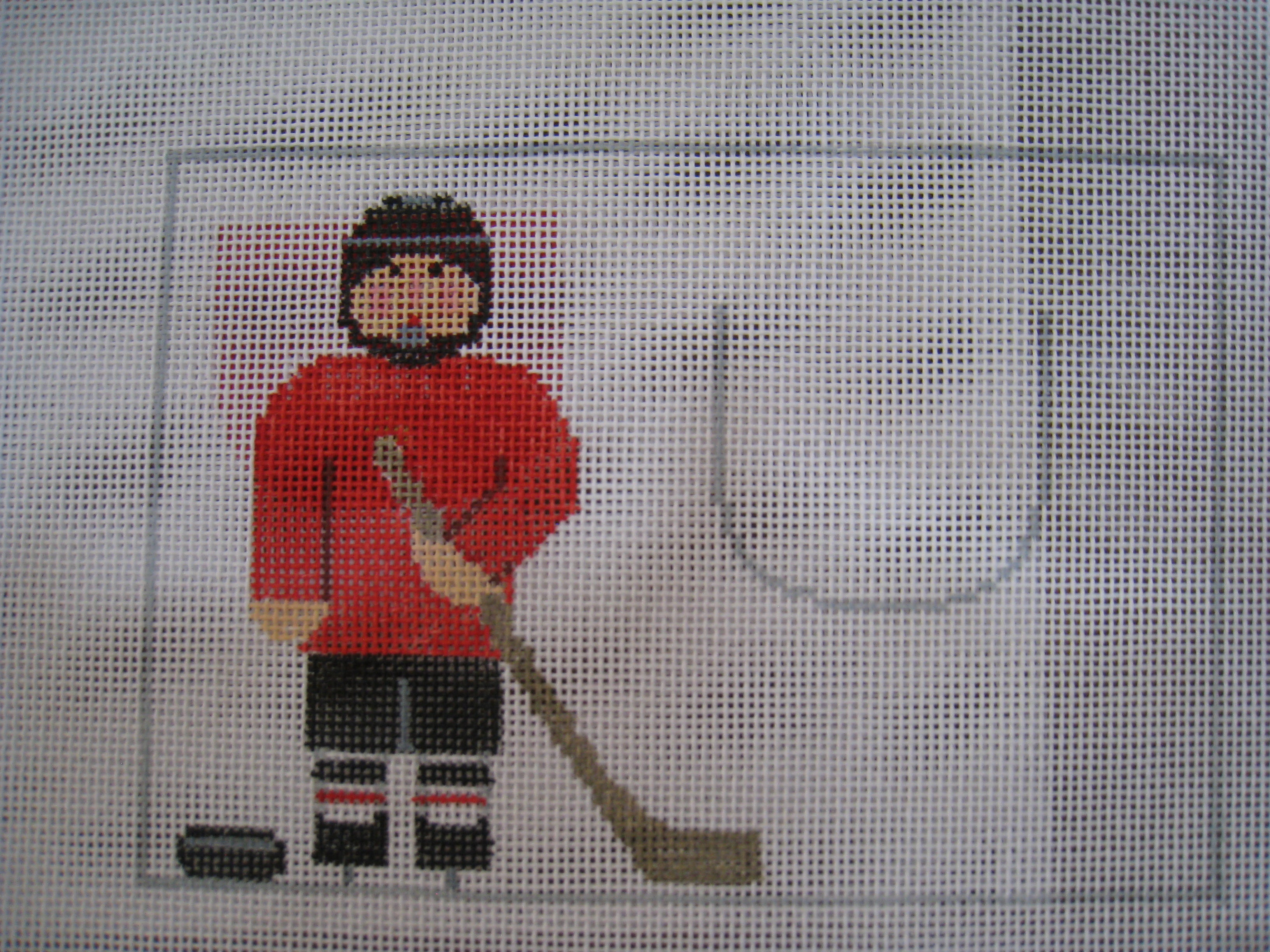 Tooth Fairy Canvas Hockey