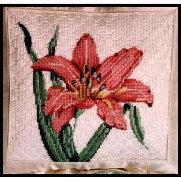 Coral Daylily Stitch Guide-CD212sg