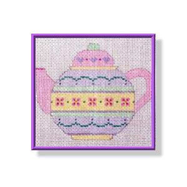 Teapot - Flowers-CD261
