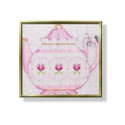 Teapot - Flowers-CD262