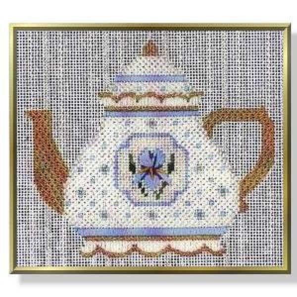 Teapot - Iris Stitch Guide-CD271sg