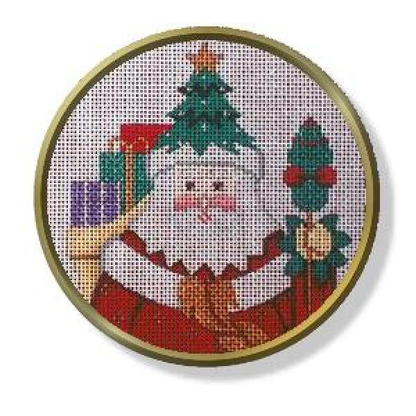 Treehat Santa - Round Head Only-CD401A