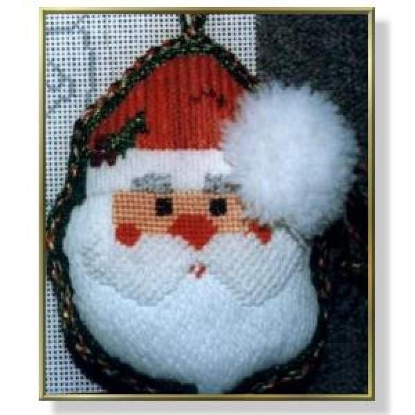 Santa Face Stitch Guide-CD776sg