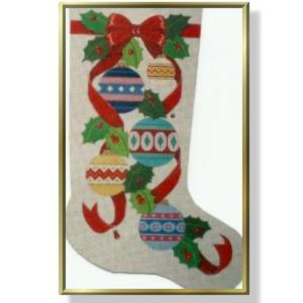 Christmas Balls Stocking-CD903