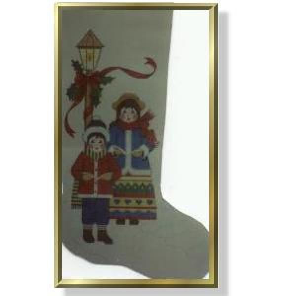 Carolers Stocking-CD904