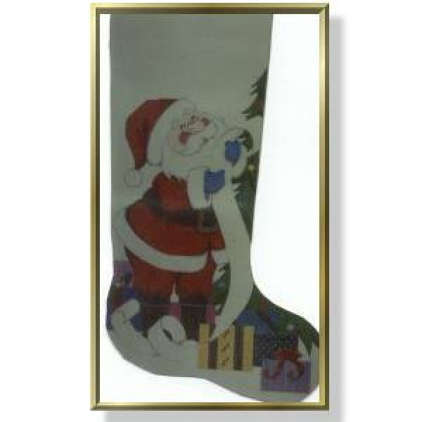 Santa's List - Stocking-CD905
