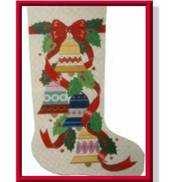 Christmas Bells Stocking-CD916