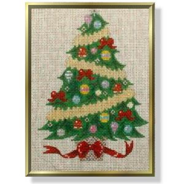 Decorated Tree Free Standing Stitch Guide-CD978