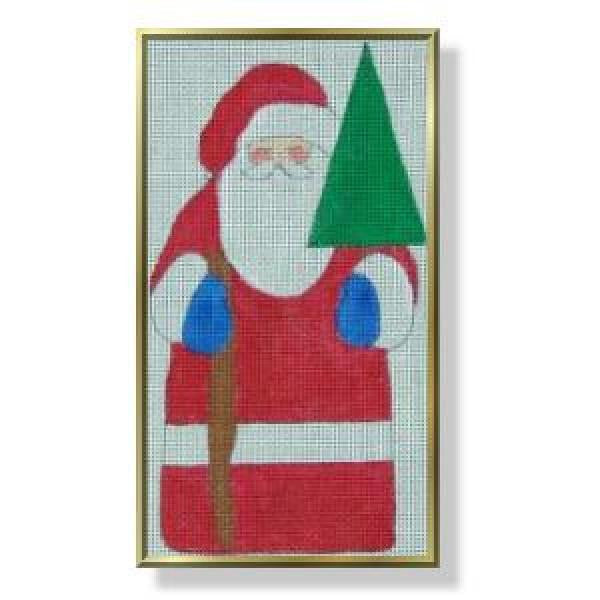 Father Christmas, Santa with a Star Tree-CM404