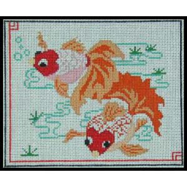 Two Goldfish-E45A