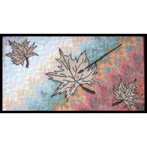Wind Scattered Color Spatter Leaves-KF108