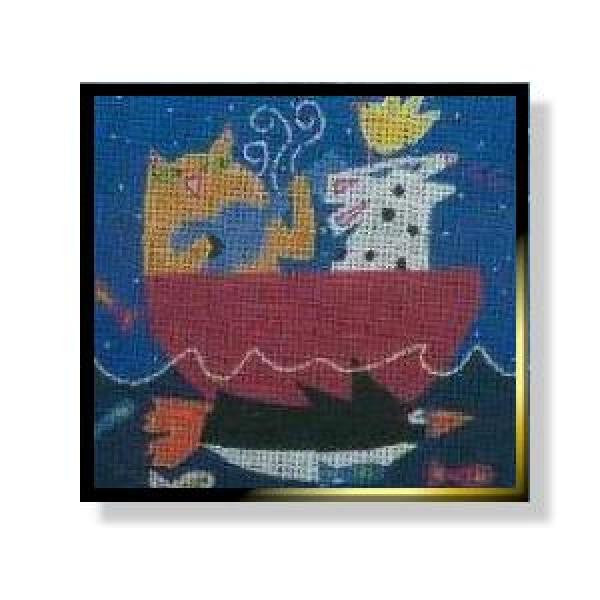 Water Music - Cat & Dog-NC113A