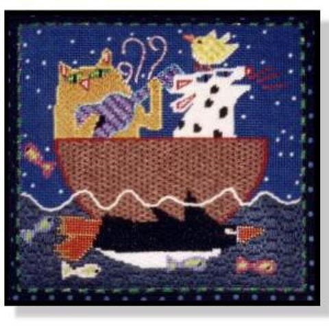 Water Music - Cat & Dog Stitch Guide-NC113Asg