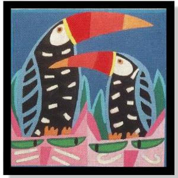 Two Cats & Toucans-NC143