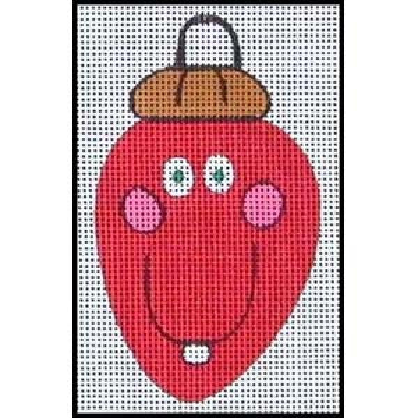 Smiling Bulb - Red-NS156R