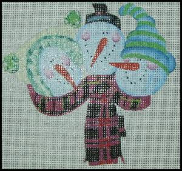 Snowman Trio Ornament-NS221A