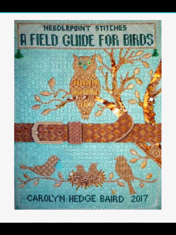 A Field Guide for Birds  - Needlepoint Stitches