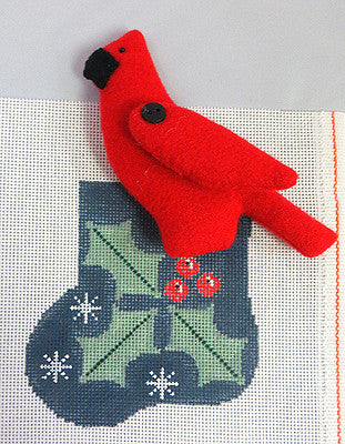 Cardinal Mini Stocking