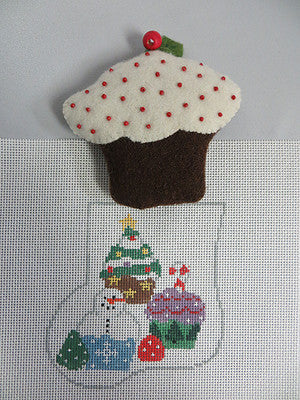 Cupcake Mini Stocking