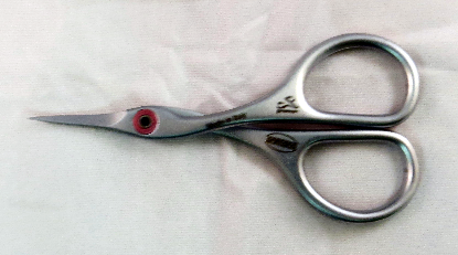 CURVED - SERRATED SCISSORS
