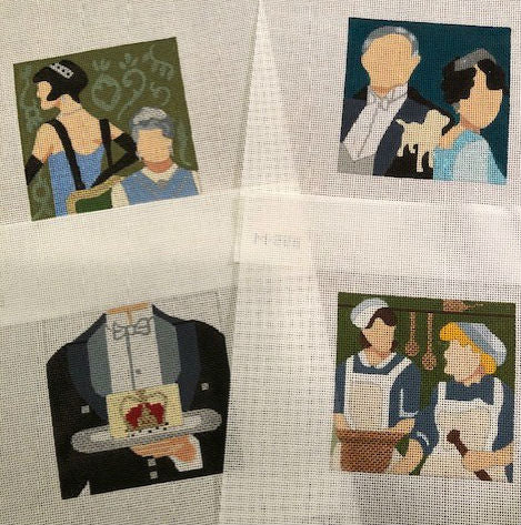 Downton Abbey Coasters