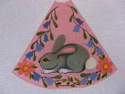 Easter Tree Skirt Section