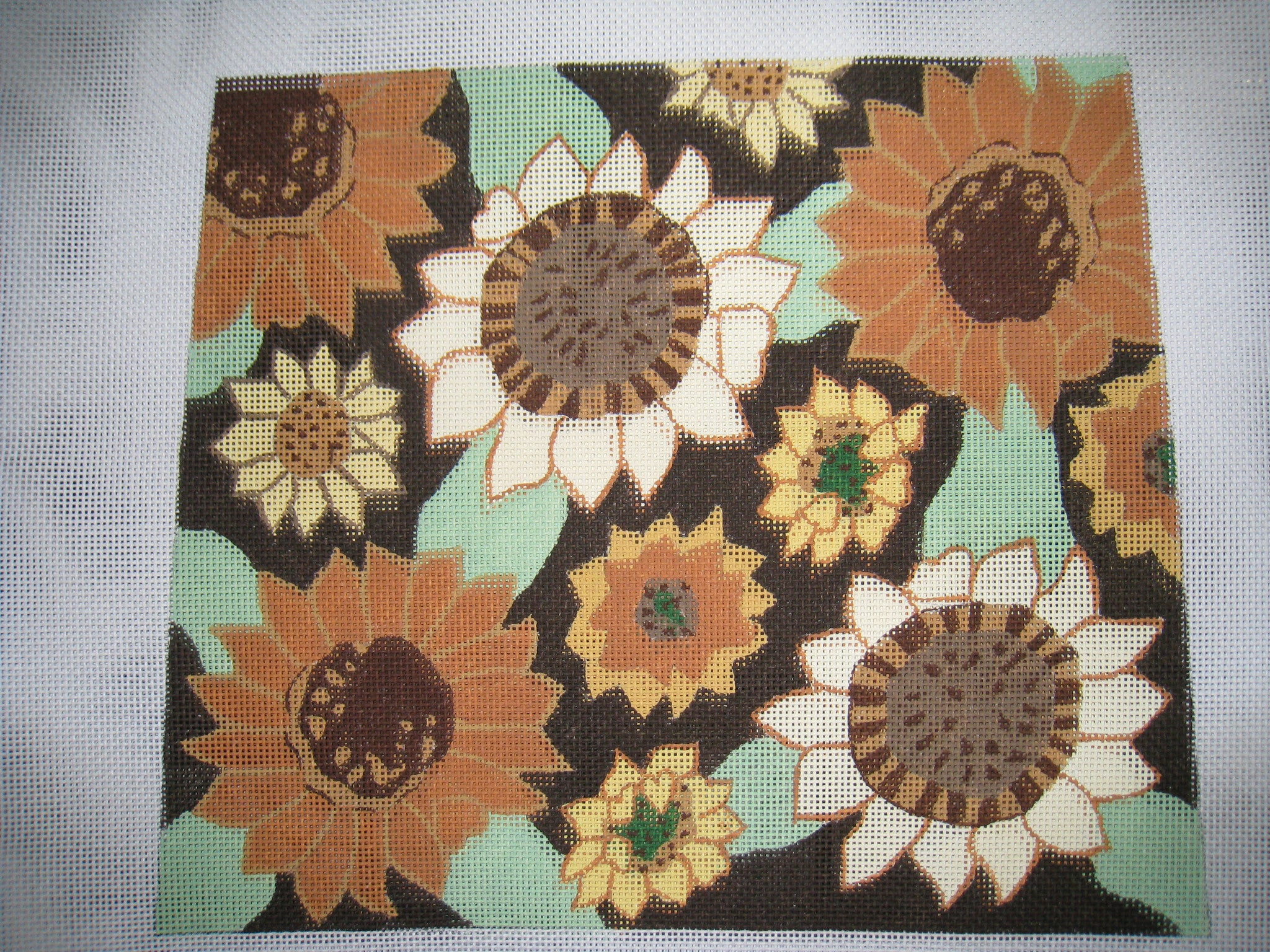 Sunflower purse by Elizabeth Turner Designs