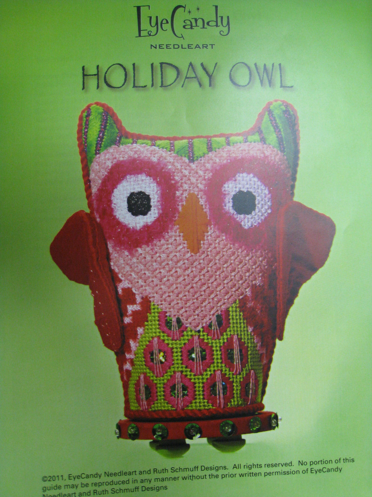 Holiday Owl by Eyecandy