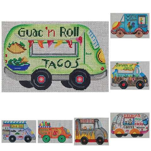 Food Truck canvases