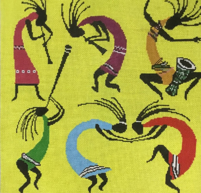 Kokopelli Collage