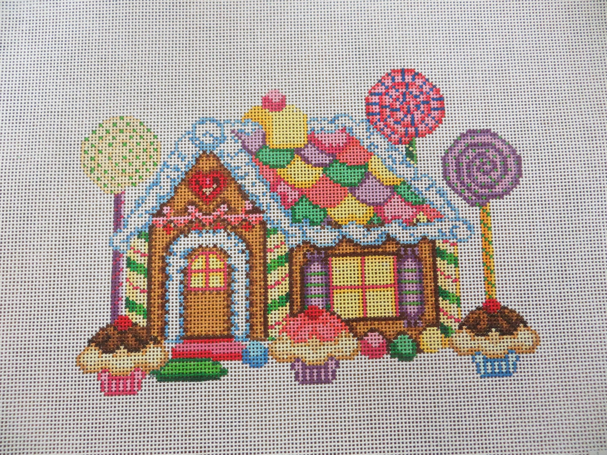 Candy and Gingerbread House
