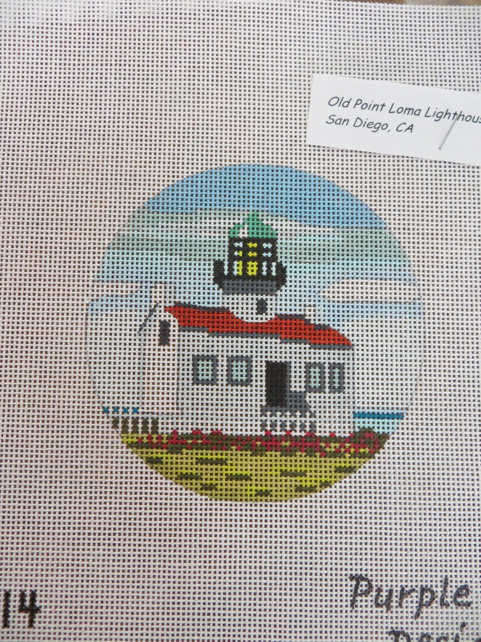 Old Point Loma Lighthouse Ornament
