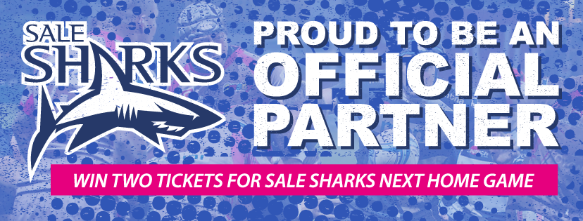 Win Sales Sharks Rugby tickers