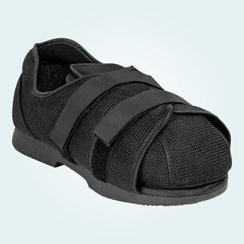 The Benefoot Post Op Shoe Toe Cover in the Benefoot Post Op Original Medical Shoe.